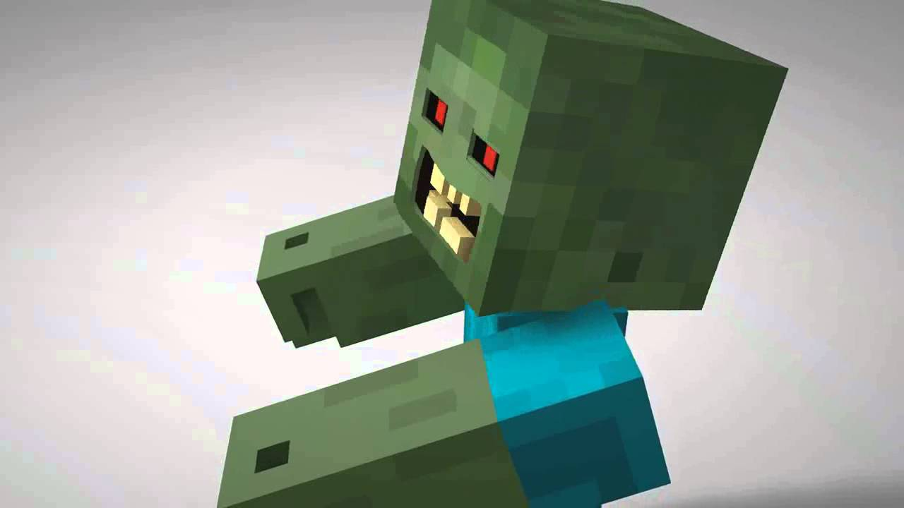 how to become a zombie in minecraft