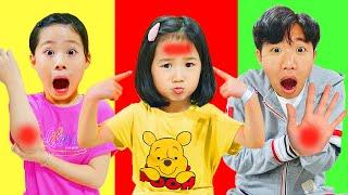 Boram e a história das crianças boo boo