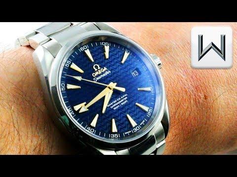 "Omega Seamaster Aqua Terra ""BLUE WAVE"" 231.10.42.21.03.006  Luxury Watch Review"