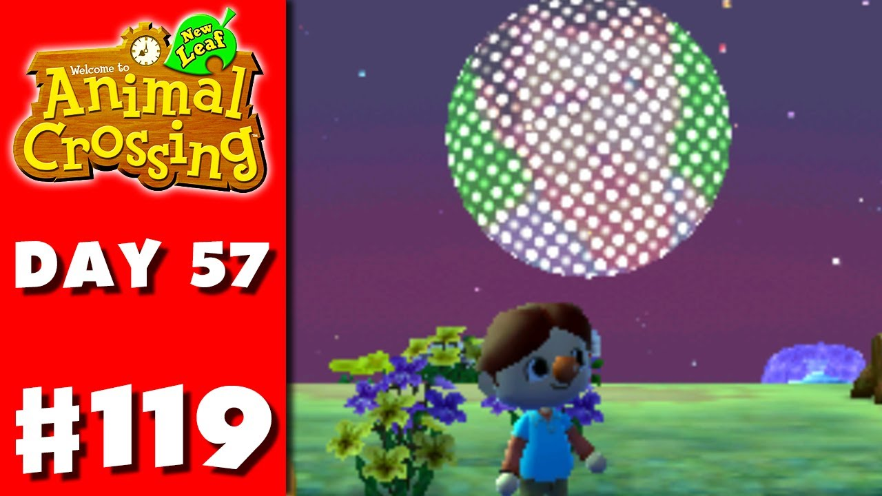 Animal Crossing New Leaf Part 119 Fireworks Show Nintendo