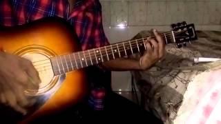 Anjanay Raaston Song Guitar Cover (Mustafa Zahid) |Roxen The Band|