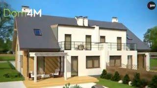 4M544 Проект дома на две семьи с отдельным входом
