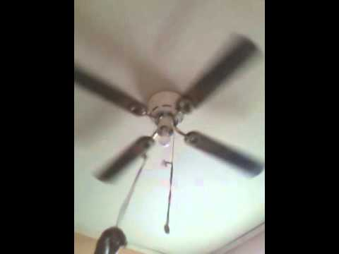 Harbor Breeze Armitage Ceiling Fan With Cane Blades Youtube