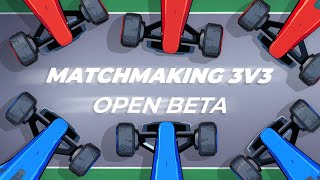 TRACKMANIA MATCHMAKING 3V3 BETA AVAILABLE NOW