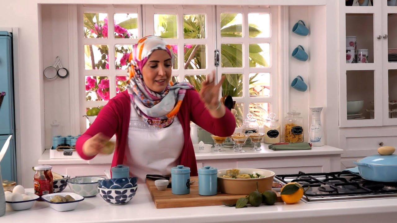 اتشيز كيك + طاجن بالخضروات  - برنامج مطبخ أسيا - أسيا عثمان - الحلقه الثانيه والعشرون - الجزء الثانى