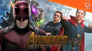 Defenders & Possible Daredevil Easter Egg in Avengers Infinity War