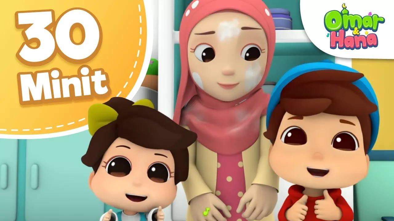 Omar & Hana | Kompilasi 30 Minit | Kejutan Untuk Papa & Lain-Lain