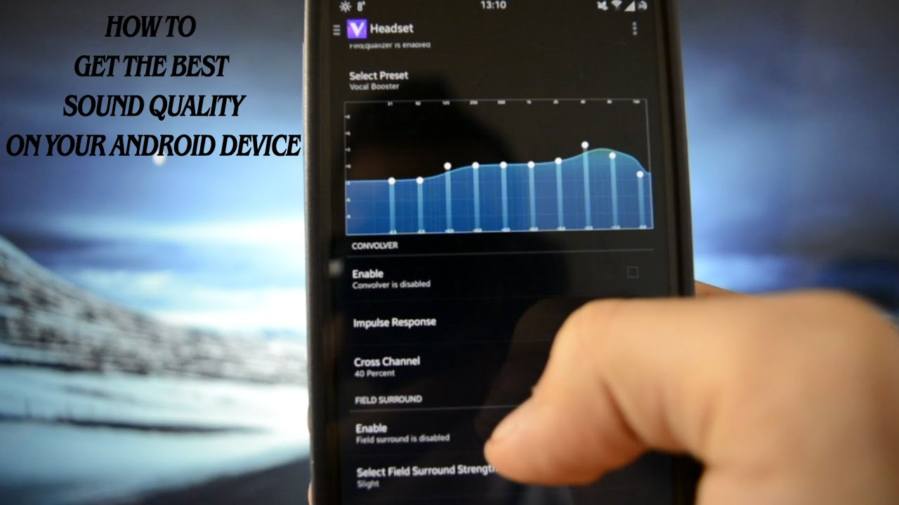 HOW TO: GET THE MAXIMUM SOUND QUALITY ON YOUR ANDROID DEVICE -  VIPER4ANDROID - WICKED ANDROID HD
