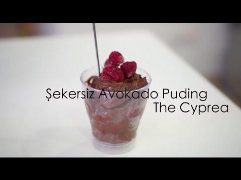 Şekersiz Avokado Pudding