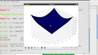 Tutorial by abhishek : 3D plotting using Python