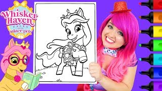 Coloring Whisker Haven Petite Coloring Book Page Prismacolor Colored Paint Markers | KiMMi THE CLOWN