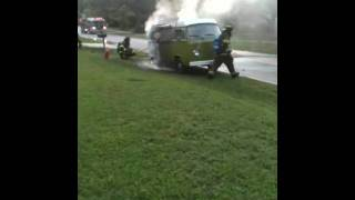 1974 Volkswagen Type 2 ON FIRE  3/3