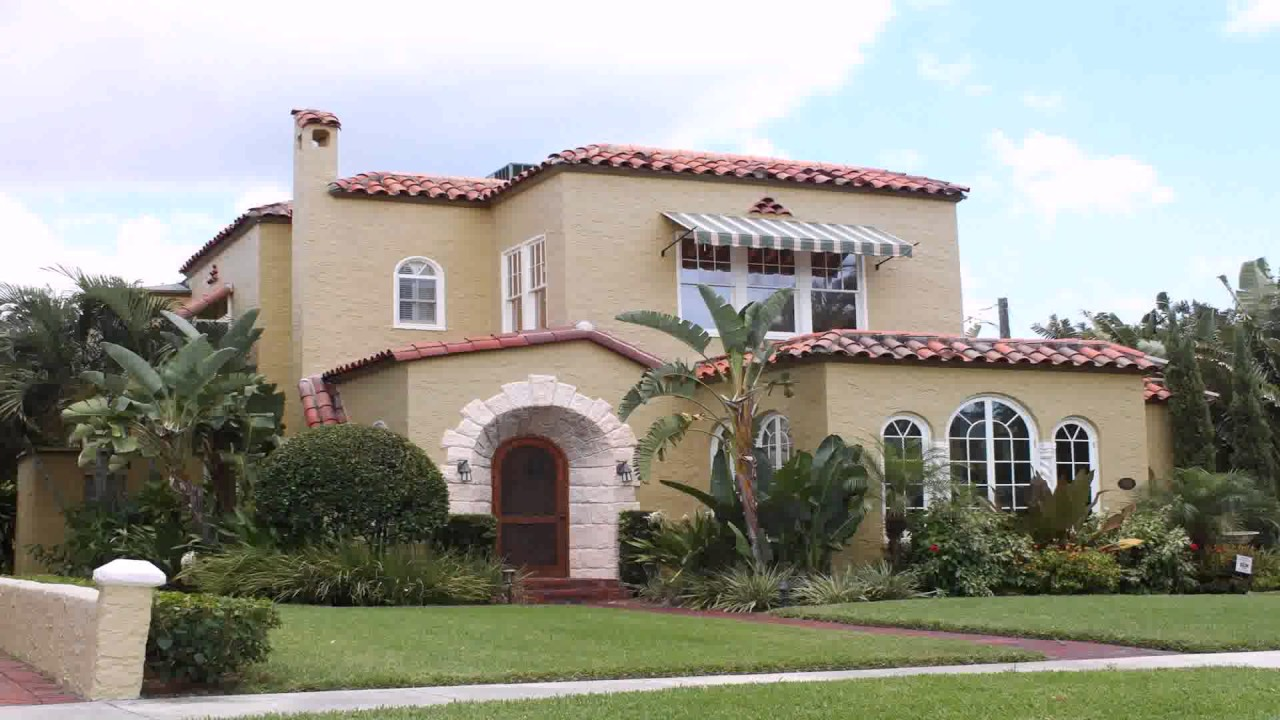 House Colors Exterior Color By Style Of Architecture Free