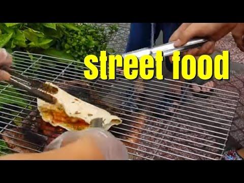 Street food in Vietnam - Vietnamese Pizza???