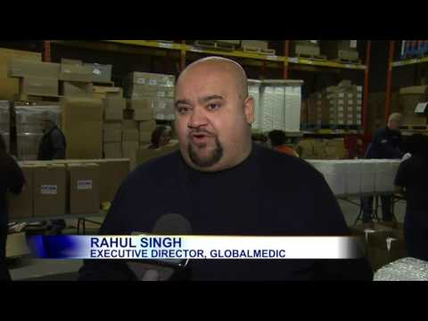 Video: GlobalMedic sending emergency kits to people trapped in Syria