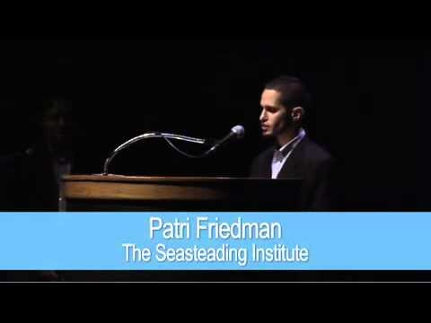 Innovative Philanthropy with Patri Friedman - The Seasteading Institute