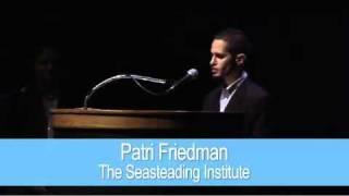 Innovative Philanthropy with Patri Friedman - The Seasteading Institute