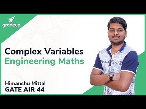 Complex Variables For GATE | Analytic Function, Cauchy Integral, Residue Theorem, Taylor Series
