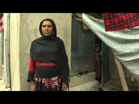 Afghanistan's hill of widows live in a world apart