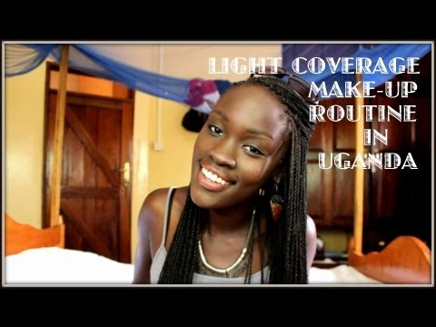 My Makeup/Foundation Routine in Uganda - Light Coverage (for a hot country)