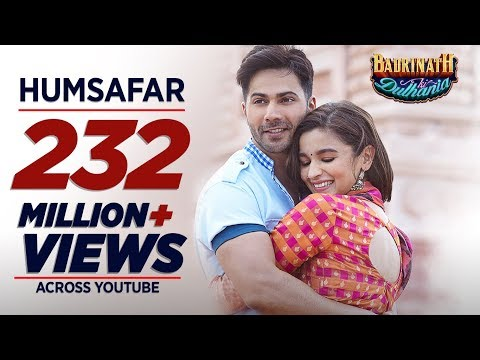 Humsafar Video Song - Badrinath Ki Dulhania