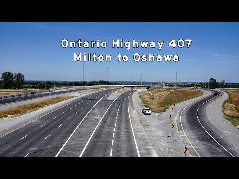 2016/09/11 - Ontario Hwy 407 - Milton to Oshawa
