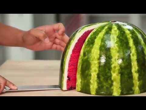 คลิปน่าลอง : วิธีทำเค้กรูปแตงโม
