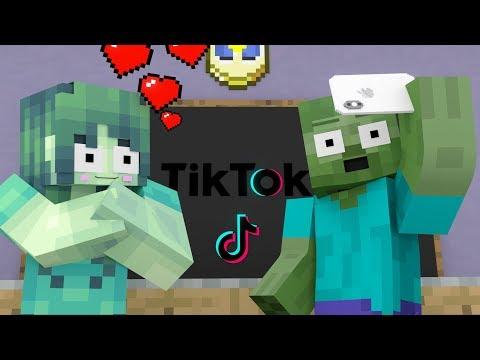 Monster School : Tik Tok Challenge - Minecraft Animation