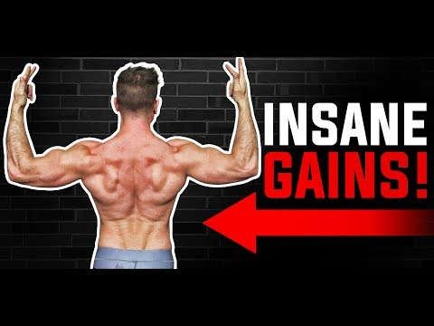 BACK: The ONLY TWO Exercises You Need For GROWTH! | THICKNESS & WIDTH