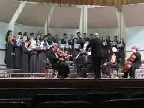 Peabody Veterans Memorial High School Chorale - Domine