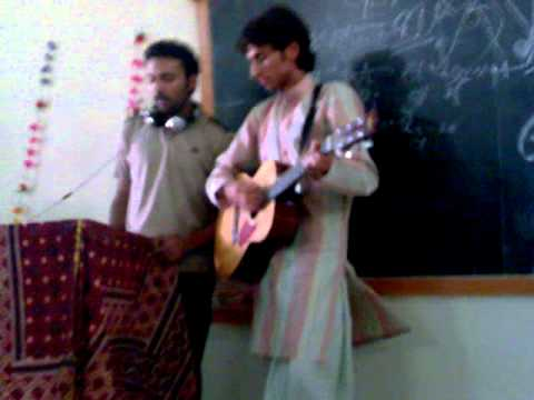 LUMHS song sung by fahad (i'm gonna miss...