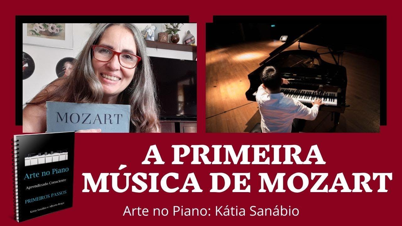 A Primeira Música De Mozart Youtube