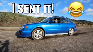 TAKING MY WRX OFFROAD AND THIS IS WHAT HAPPENED..
