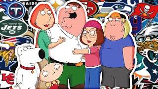 Every NFL Team's Season So Far Summed Up in a Family Guy Clip