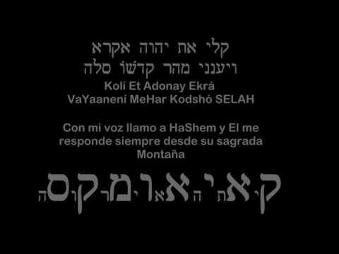 Serie: Salmos con Kavanot: SALMO 3: Contra un enemigo implacable