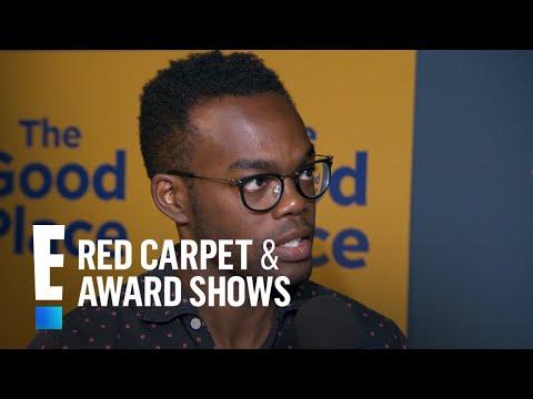 "William Jackson Harper & More Talk ""The Good Place"" Season 3   E! Red Carpet & Award Shows"