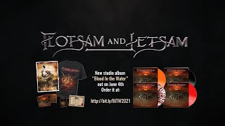 """Flotsam and Jetsam - Full Band Interview (Discussing new album """"Blood In The Water"""")"""