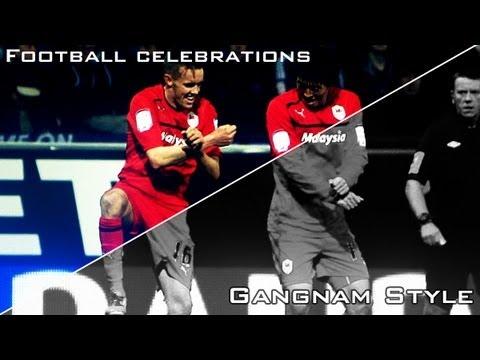 Football Celebrations - Gangnam Style 강남스타일 | Cavani, Neymar, Zuniga And Other