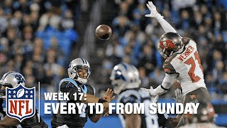 Every Touchdown from Sunday (Week 17) | NFL RedZone