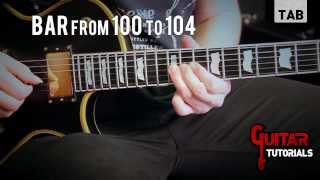 Walk With Me In Hell (lamb Of God) - Solo Tutorial By Alessandro Tuvo