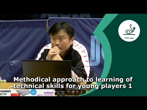 Methodical approach to learning of technical skills for young players 1