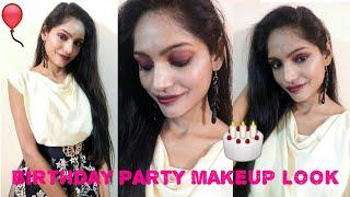 Birthday Party Makeup Look || 5 min makeup