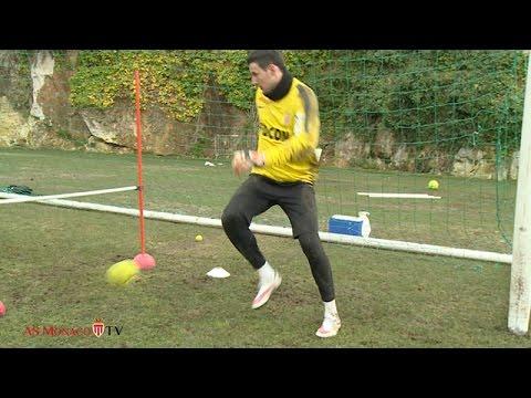 Subasic - Stekelenburg ▶ goalkeeper training with a tennis ball !