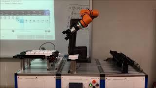 [한화로보틱스] 한국기술교육대학교 협동로봇 HCR 교육