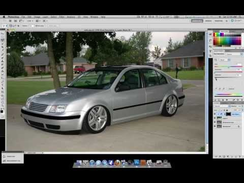 DIY make your car OEM Plus in photoshop