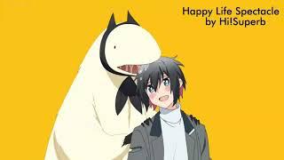 "Jingai-san no Yome opening ""Happy Life Spectacle"" by Hi!Superb full Lyrics"
