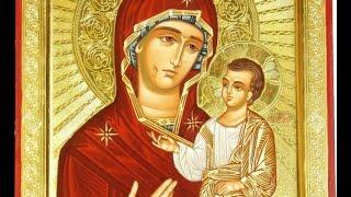 Иверская икона Божией Матери - 26 октября - Православный календарь(Иверская икона Богородицы сейчас хранится на Афоне. А в девятом веке она находилась у одной вдовы, жившей..., 2015-10-25T13:00:03.000Z)