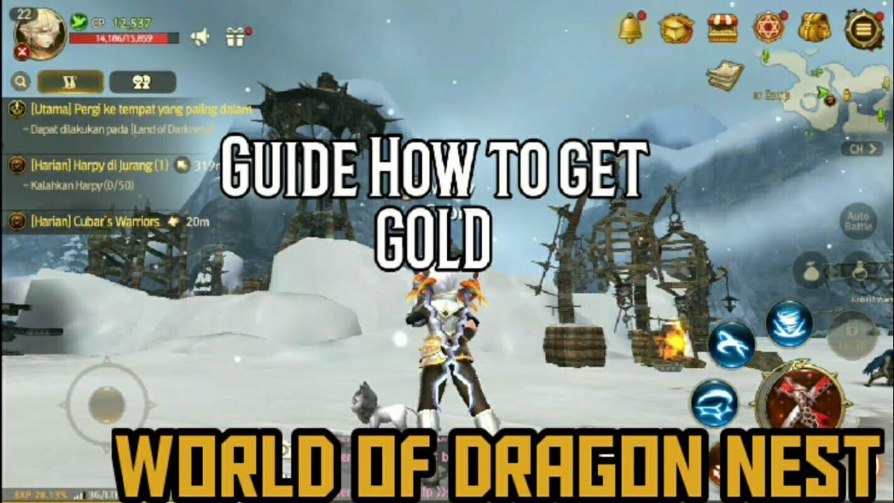 dragon nest farming gold lvl 32