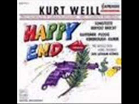 Kurt Weill - Berthold Brecht - Happy End.wmv