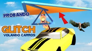 Flying carts with Roblox JAILBREAK glitch glider glitch Glider Glider samymoro